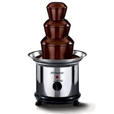Moderne Lej en chocolate fountain Chokolade, oste eller sauce fondue CS-09