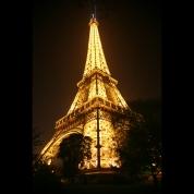 Banner - Eiffeltårnet i Paris 4X6m