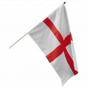 Flag på træpind - England