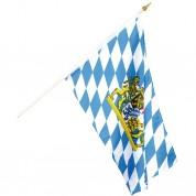 Flag på træpind - Bayern