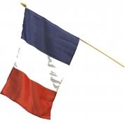 Flag på pind - Frankrig