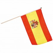 Flag på træpind - Spanien