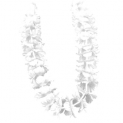 Hawaii krans - Hvid