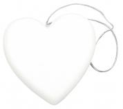 Hjerte m. hvid Glimmer