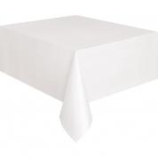Hvid-dug 140 x 230 cm.
