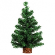 Juletræ med træfod 45 cm