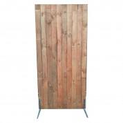Skillevæg væg - I træ - Mahogni/ Rødbrun