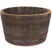 Vintønde - Whiskytønde - Stor - Halv
