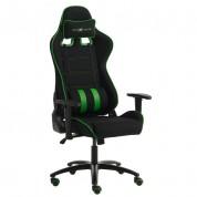 Gamerstol - sort og grøn
