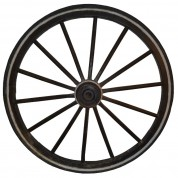 Hestevogns hjul i træ