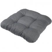 Havehynde stolesæde - grå 40x40 cm