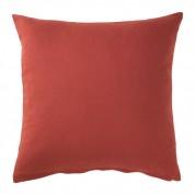Pude - rødorange 50 x 50 cm