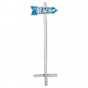 Skilt - Beach