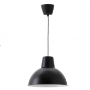 Lampe - sort 38 cm