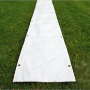 Tagrende telt 4 meter - Hvid M.B
