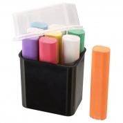 Kridt til tavler - forskellige farver i pakke 9 stk.