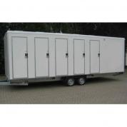 VIP toiletvogn - 10 toiletter 6 urinaler med tank