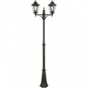 Lygtepæl - Gadelampe 2 arme