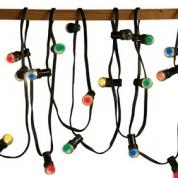 Lyskæde 20 M. Farvet LED