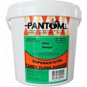 Candyfloss sukker - Orange 10kg