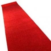 Løber - Rød 1 m. bred farve 9312