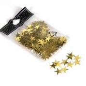 Stjernekonfetti guld 20mm