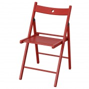 Stol - Klapstol model TERJE i rød