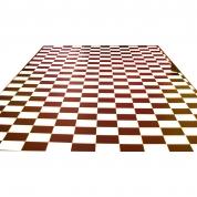 Ternet vinylgulv - Sort & Hvidt 30 kvm