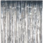 Trådforhæng Sølv