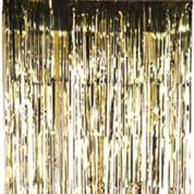 Trådforhæng Guld