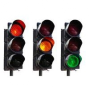 Trafiklys - Rød, Gul & Grøn