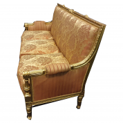 Sofa - Kongelig guld sofa