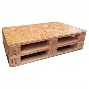 Palle bord med OSB topplade lakeret