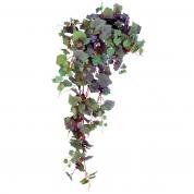 Vinblads ranke med druer
