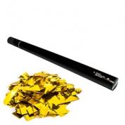 Konfettirør - Hand - Guld 80 cm