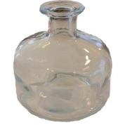 Vase, glas klart