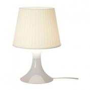 Bordlampe - hvid