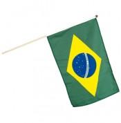 Flag på pind - Brasilien
