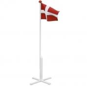 Flagstang med dannebrogsflag 160cm høj