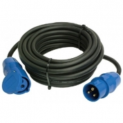 Strøm kabel blå cee 220-240v 2m