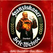 ØL Franziskaner Dunkel Fustage 30L.