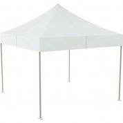 Telt - Pop-up - 3 x 3 m - hvid uden sider
